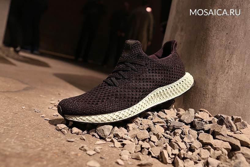 Adidas начнет серийное производство отпечатанных на3D-принтере кроссовок