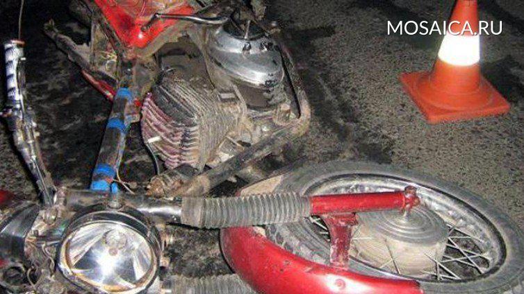ВУльяновской области мотоциклист перевернулся на«Урале» и умер