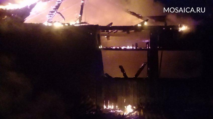 Загорелось строение фельдшерско-акушерского пункта вНиколаевском районе. имеется пострадавший