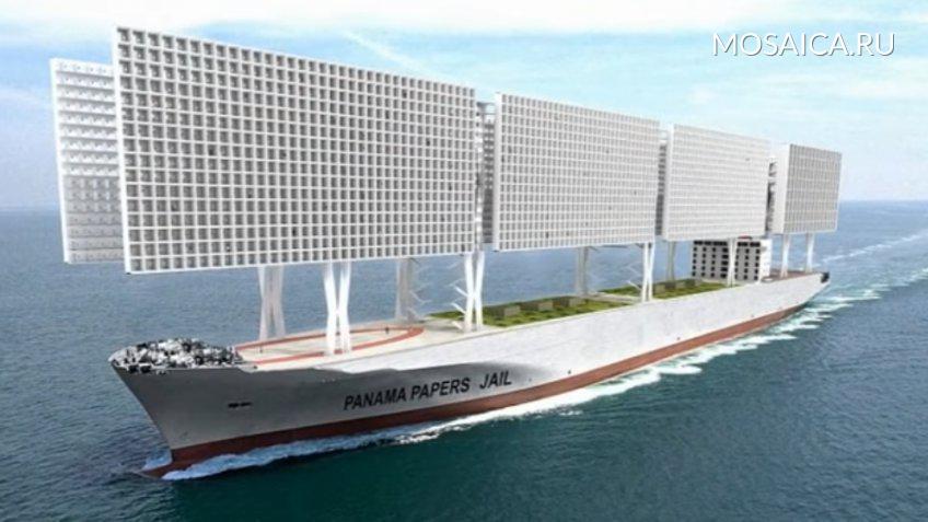 Архитекторы показали концептуальный автомобиль корабля-тюрьмы встиле «Игры престолов»