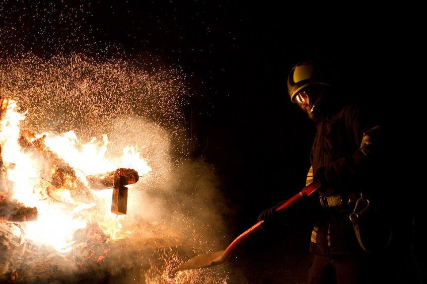 ВКашире впожаре вквартире пострадал человек