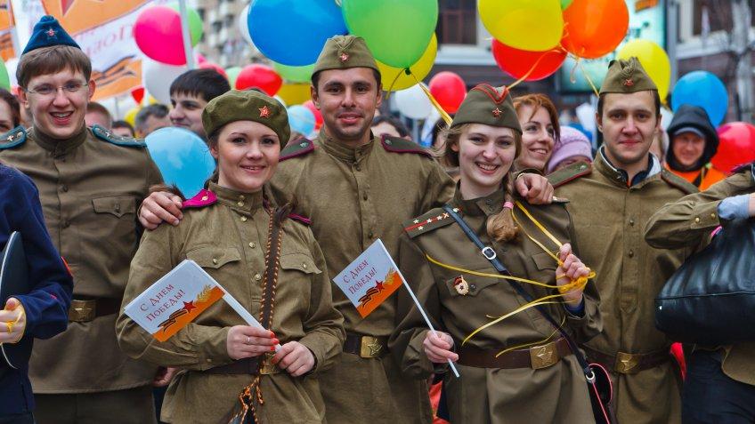 День Победы собираются отмечать три четверти граждан России