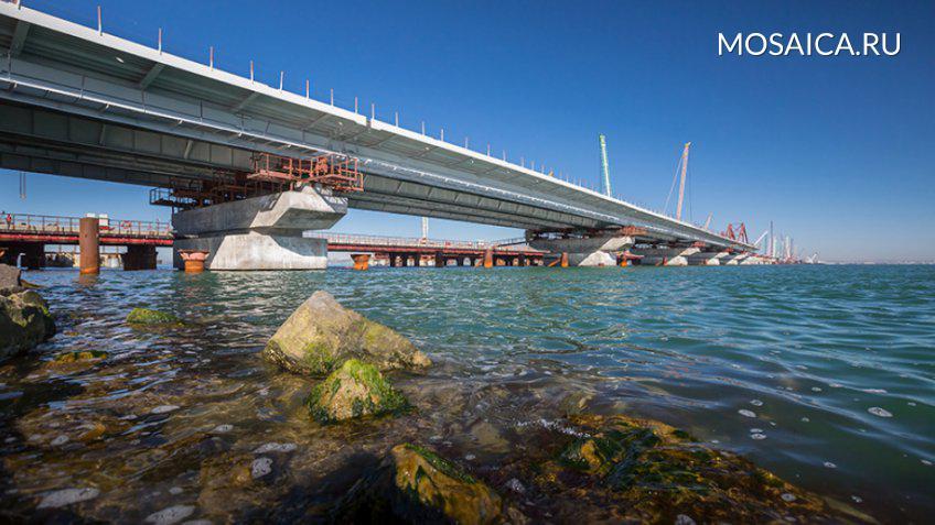 Соколов: Пройти поКрымскому мосту можно будет уже осенью