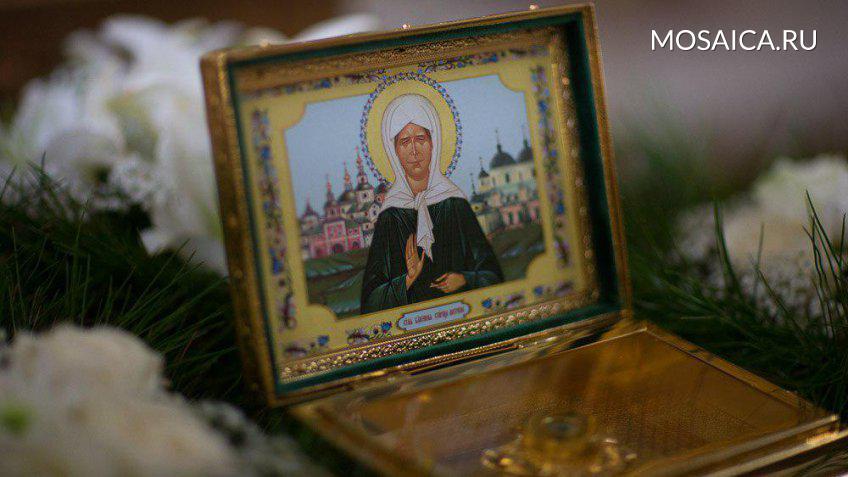 Завтра вУльяновск прибудет ковчег счастью мощей блаженной старицы Матроны Московской
