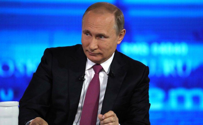Практически  1,5 млн жителей столицы  поглядели  «прямую линию» с В.Путиным