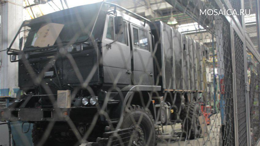 Навооружение ФСБ поступил новый броневик «Викинг»
