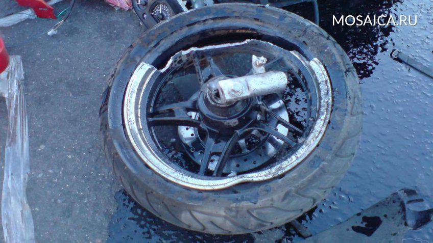 ВДимитровграде девушка на«девятке» сбила мотоциклиста