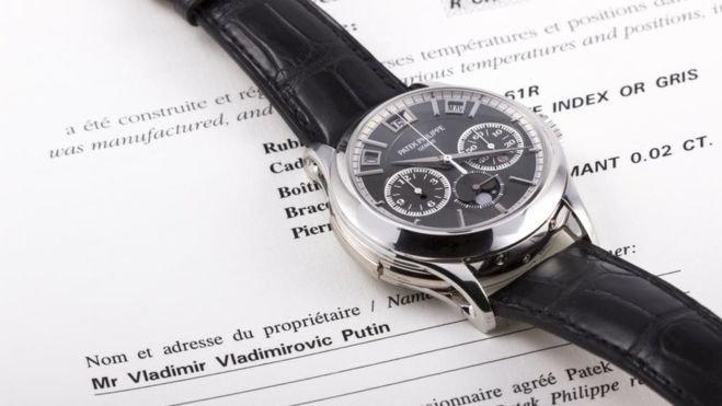 Часы В.Путина ушли смолотка за1млневро