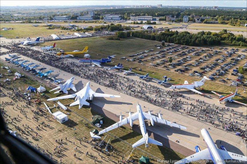 Неменее 170 тыс человек посетили авиасалон МАКС впятый день работы