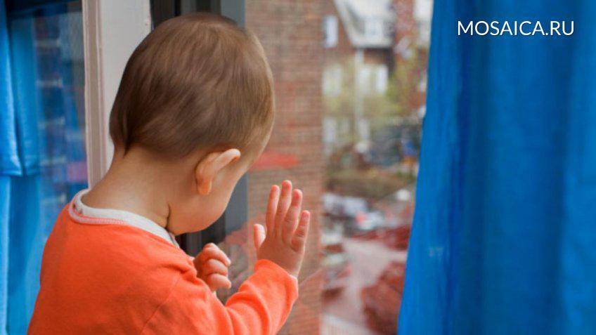 ВЦильнинском районе ребенок выпал изокна навтором этаже