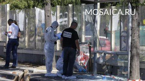 Размещено фото сместа нападения психа сножом напрохожих вМарселе