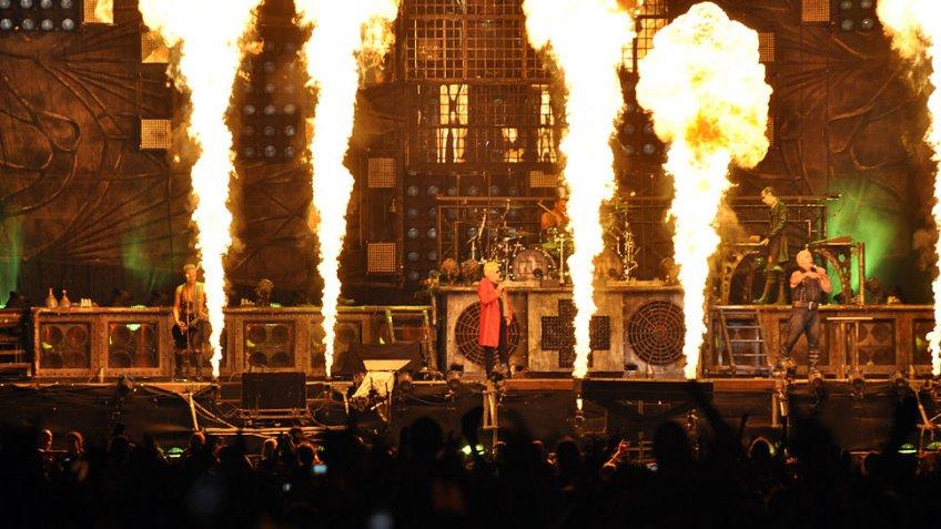 Группа Rammstein заканчивает карьеру