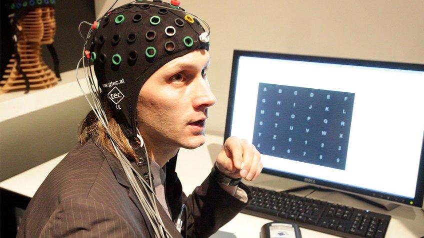 В Российской Федерации  испытали устройство для набора текста при помощи  мысли