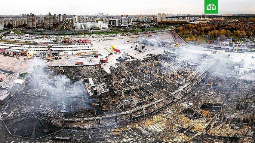 «Синдика» построит новый торговый комплекс взамен сгоревшего