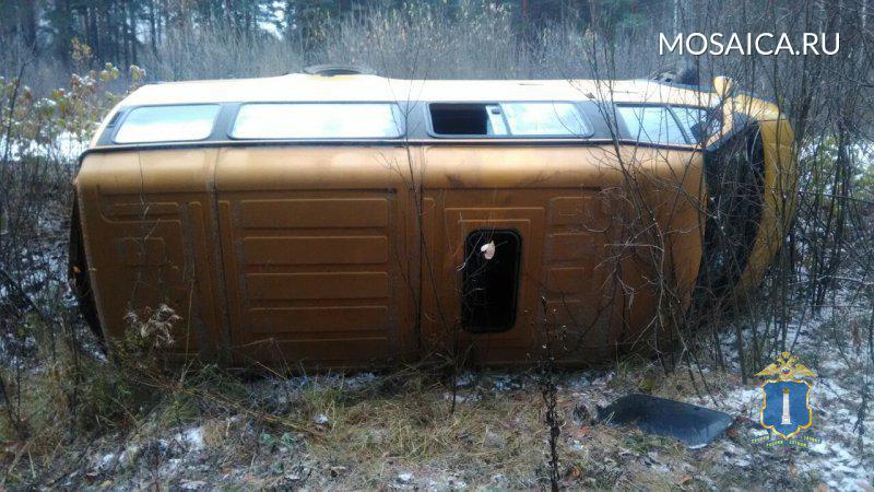 При ДТП смаршруткой под Ульяновском пострадали 5 человек
