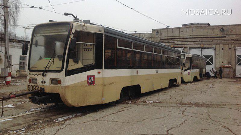 Столичные  трамваи уже начали поступать вУльяновск