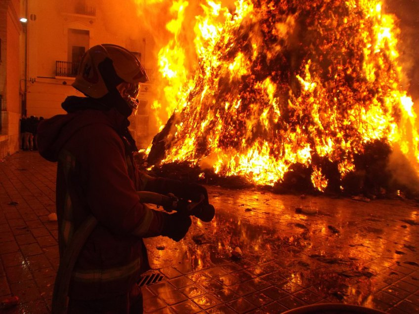 Пожар в коммерческом центре вПодмосковье был локализован