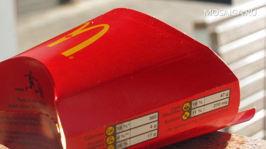 В 2025 McDonald's перейдет напереработанные материалы