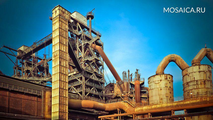 Промышленное производство в Российской Федерации выросло загод на1%