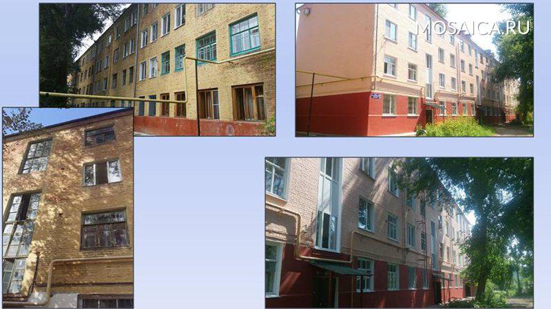 В 2017г. вцентре Ульяновска починят фасады домов