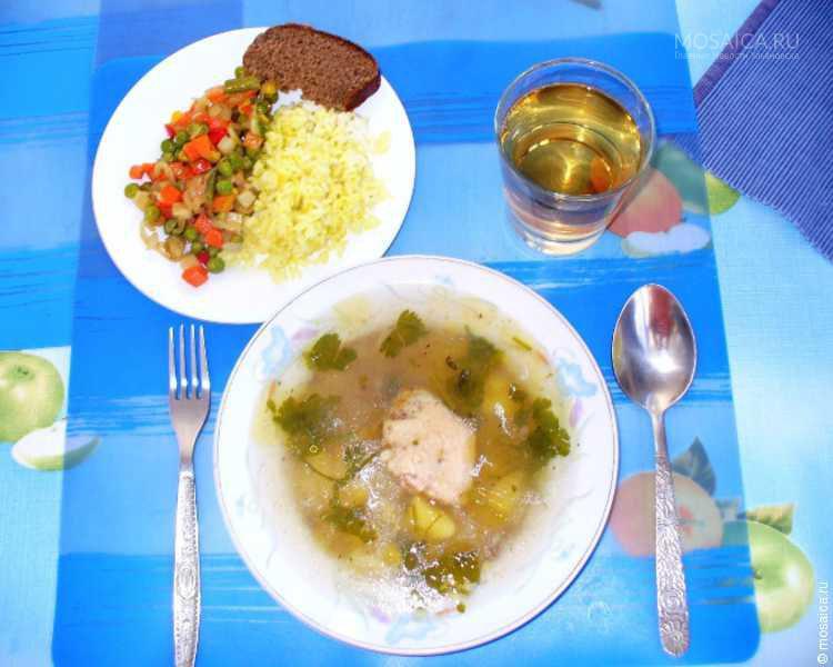 Обед для школьника рецепты с фото