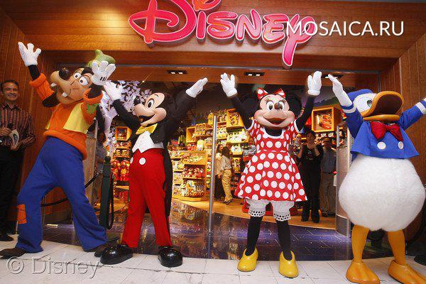 d15cae85c75 Американская компания Disney откроет магазины в России