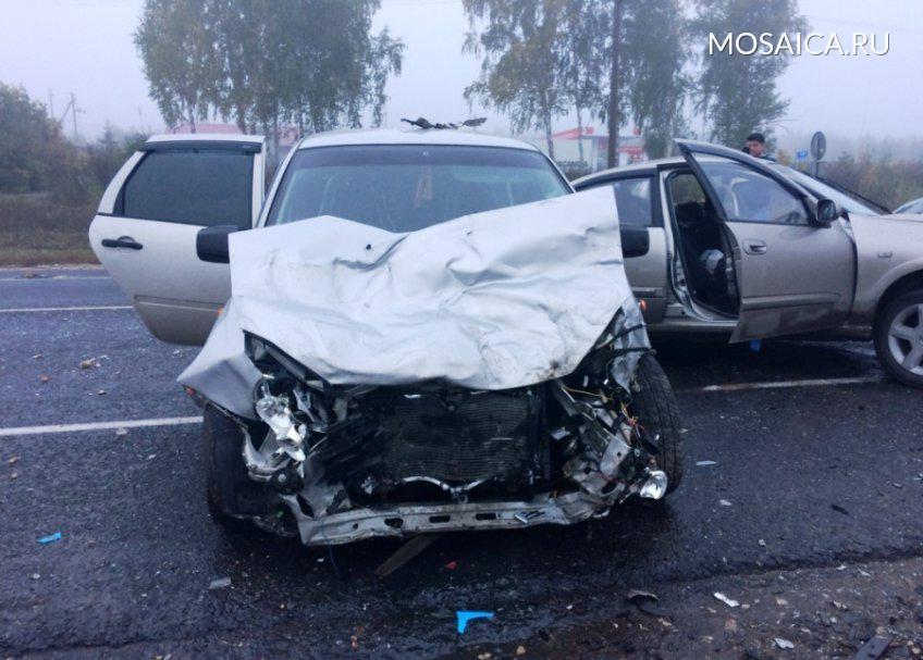 ВУльяновской области врезультате происшествия надороге пострадали семь человек