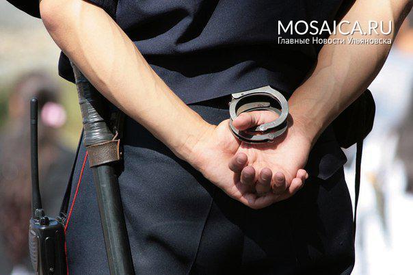 Заизбиение полицейского ульяновец получил 2 года колонии