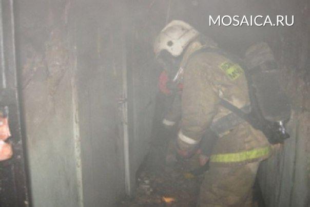 ВУльяновксе впожаре умер пенсионер: первопричиной могла стать сигарета