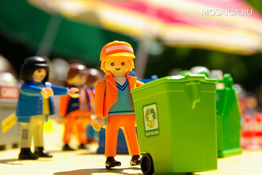 ВМосковской области внедряют раздельный сбор мусора