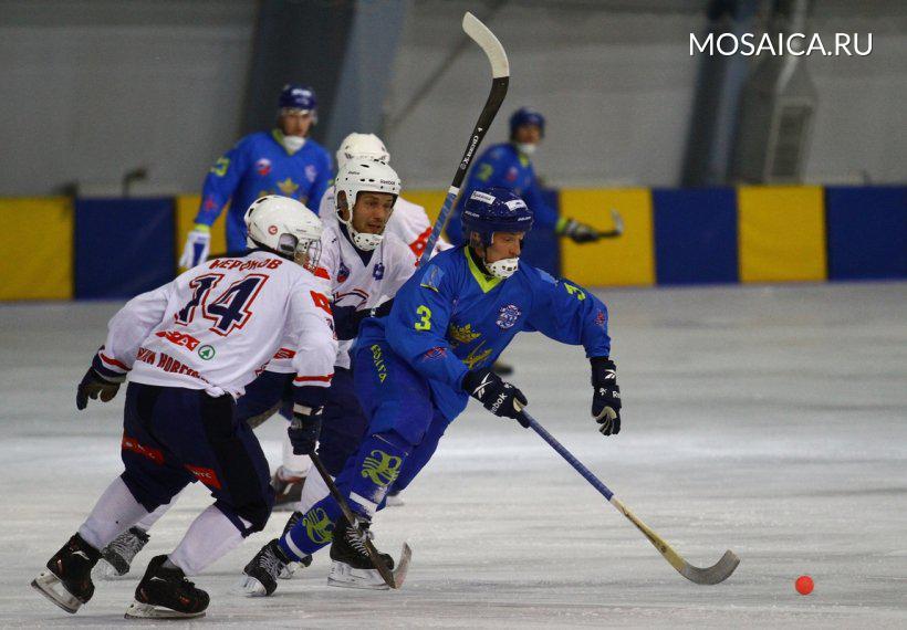 «Волга» победила «Старт» вдомашнем матче чемпионата РФ похоккею смячом