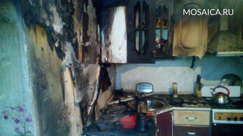 ВДимитровграде тушили пожар вдоме