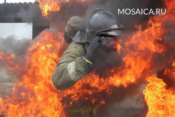 ВУльяновской области изгорящего дома спасли пенсионерку