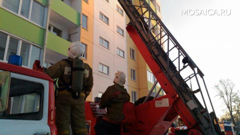 Впроцессе пожара наулице Заречной ульяновские пожарные спасли шесть человек