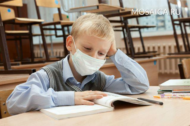 ВПодмосковье на100% закрывают школы идетские сады из-за эпидемии ОРВИ