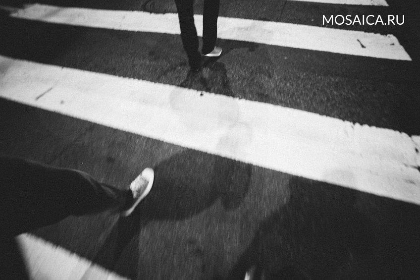 НаРадищева автомобиль сбил пешехода и исчез