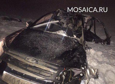 ВДТП вУльяновском районе погибла шофёр