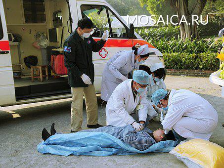 При столкновении скорой помощи слегковушкой вПодмосковье пострадали медсотрудники