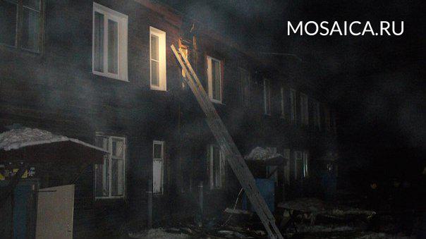 ВУльяновской области впожаре внежилом доме умер 55-летний мужчина