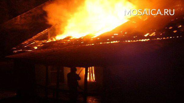 Напожаре всвоём доме сгорел гражданин Ульяновской области