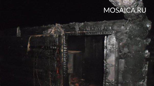 Пока хозяева были вотъезде, уних зажегся дом, пожар увидели соседи