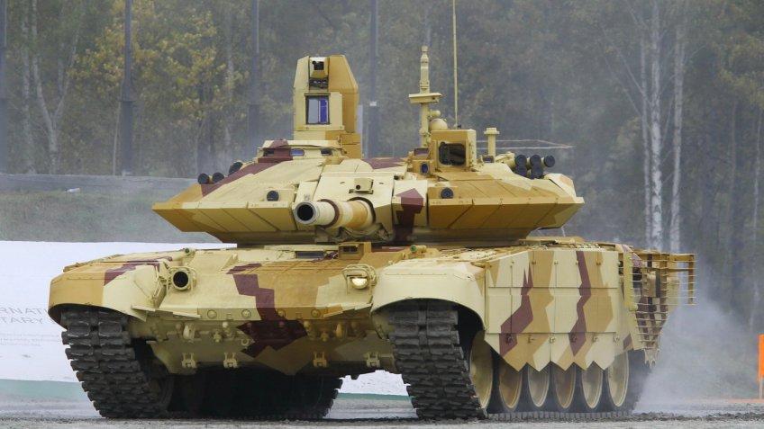 РФ поставит наБлижний Восток крупную партию танков Т-90МС