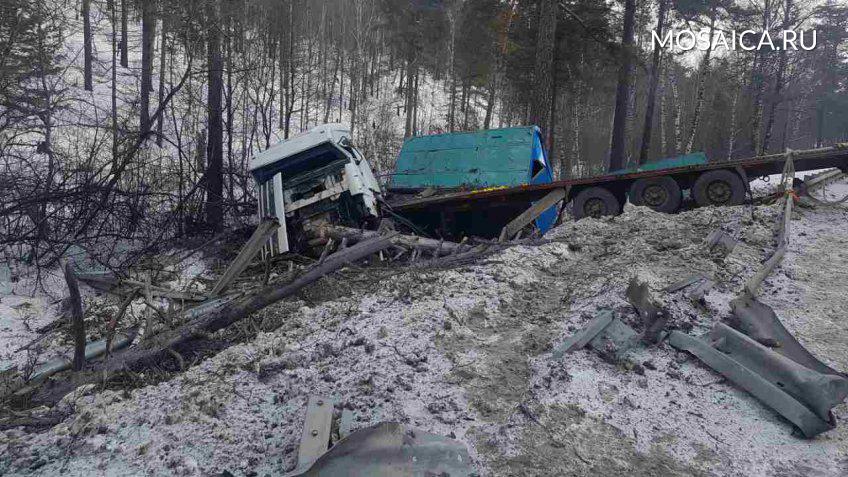 Ульяновский шофёр попал вДТП под Иркутском