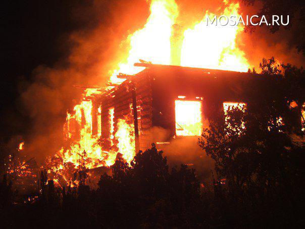 Впожаре умер хозяин дома