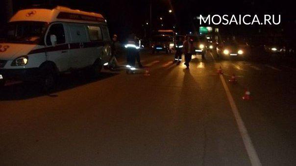 Под Ульяновском автомобиль «Вольво» насмерть сбил пешехода