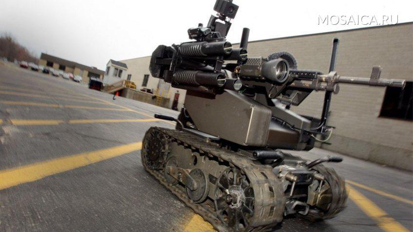 МинобороныРФ готовит программу отбора роботов для войск