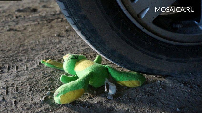 НаРадищева вУльяновске автоледи сбила 3-летнюю девочку