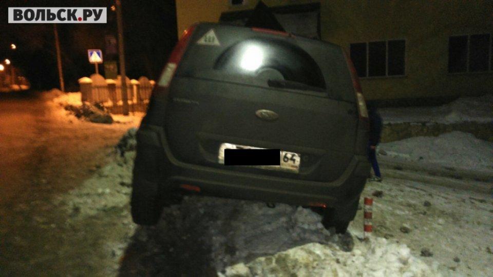 Ульяновский цементовоз раздавил «Ford Fusion»