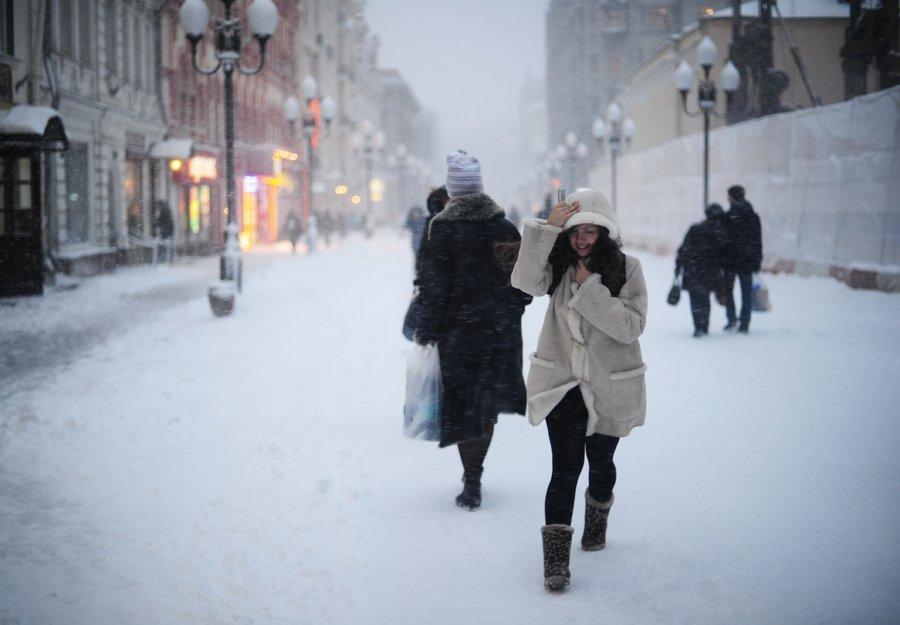В Россию пришли аномальные морозы — погода в январе 2019