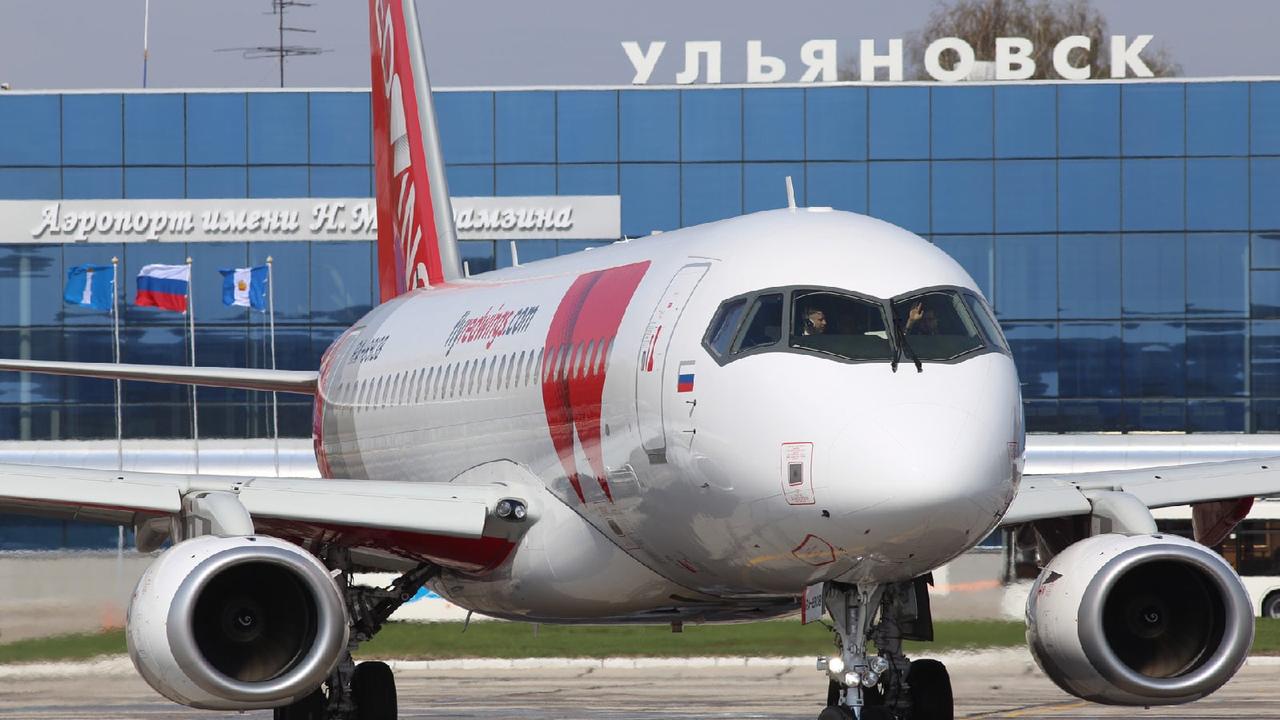 Авиакомпания Red Wings запустила рейсы Ульяновск-Екатеринбург